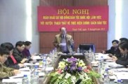 Đoàn Hội Đồng Dân Tộc Quốc Hội Về Làm việc tại Thạch Thất