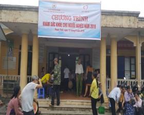 Hội Chữ thập đỏ huyện cấp thuốc miễn phí cho hộ nghèo, cận nghèo của 3 xã Đại Đồng, Lại Thượng và Phú Kim