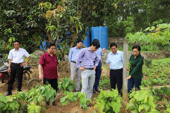 Văn phòng Điều phối Nông thôn mới Trung ương khảo sát, đánh giá kết quả xây dựng huyện Thạch Thất đạt chuẩn nông thôn mới năm 2020