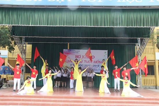 Trường THPT huyện Thạch Thất tổ chức cuộc thi Giai điệu tuổi hồng năm học 2017 – 2018
