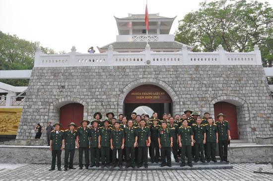 Tân Xã kỷ niệm 28 năm ngày thành lập hội Cựu chiến binh Việt Nam