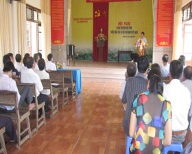 Thạch Thất tuyên truyền Hiến pháp sửa đổi năm 2013