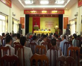 Đại biểu HĐND huyện Thạch Thất tiếp xúc cử tri trước Kỳ họp thứ 14