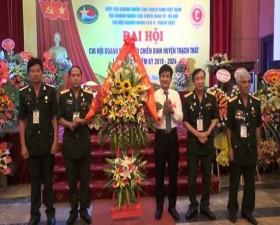Đại hội Chi hội Doanh nhân Cựu chiến binh huyện Thạch Thất lần thứ 2, nhiệm kỳ 2019- 2024