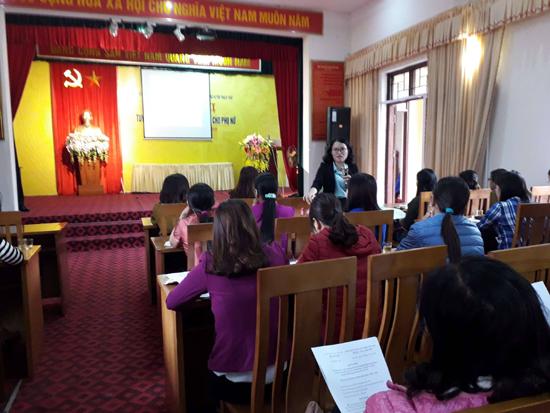 Hội nghị tuyên truyền, phổ biến pháp luật cho phụ nữ
