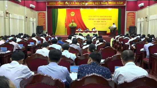 Kỳ họp thứ 9 HĐND huyện Thạch Thất  khóa XIX, nhiệm kỳ 2016 – 2021