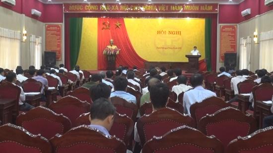 Thạch Thất quán triệt thực hiện Chỉ thị 26 của Thủ tướng Chính phủ.