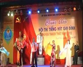 Hội thi tiếng hát gia đình huyện Thạch Thất 2013