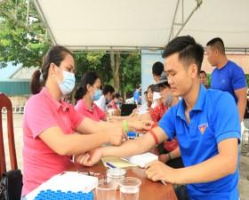 Ngày hội Hiến máu tình nguyện tại Cụm 6- xã Tiến Xuân