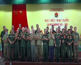 Đại hội đại biểu Hội Bộ đội Trường Sơn- Đường Hồ Chí Minh huyện Thạch Thất lần thứ III, nhiệm kỳ 2021-2026