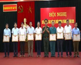 Ban chỉ huy Quân sự huyện Thạch Thất sơ kết công tác Quân sự- Quốc phòng 6 tháng đầu năm 2020