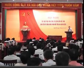 HN chỉ đạo công tác dồn điền đổi thửa gắn với xây dựng nông thôn mới huyện Thạch Thất năm 2013