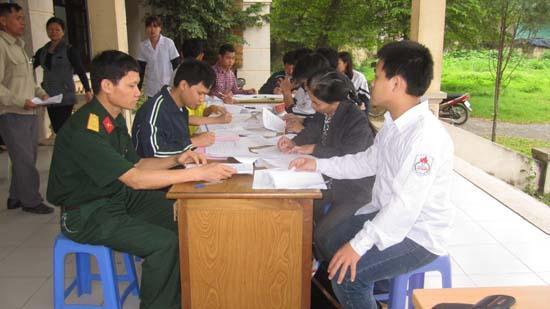 Đăng ký nghĩa vụ quân sự lần đầu cho nam công dân tuổi 17 và đăng ký dân quân cho công dân trong độ tuổi