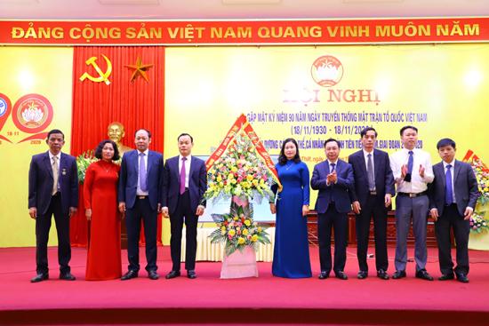 Thạch Thất: Kỷ niệm 90 năm ngày truyền thống MTTQ Việt Nam; biểu dương các tập thể, cá nhân điển hình tiên tiến 5 năm, giai đoạn 2015-2020