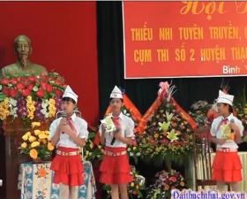 Phóng sự hoạt động hè của thanh thiếu niên huyện Thạch Thất