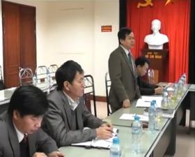 Đ/c Nguyễn Văn Nhàng Bí Thư Huyện ỦY Thạch Thất Làm Việc Với Ban QLDA Đ