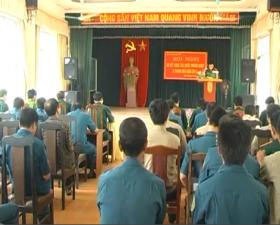 Hội nghị sơ kết công tác quốc phòng- quân sự địa phương 6 tháng đầu năm 2013.
