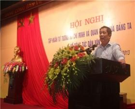 Hội nghị tập huấn tư tưởng Hồ Chí Minh về công tác dân vận