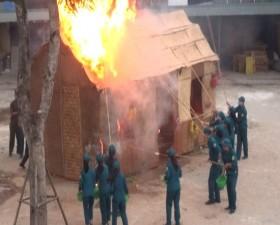 Chàng Sơn diễn tập chiến đấu phòng thủ năm 2019