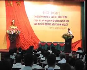 Hội nghị học tập chuyên đề tư tưởng Hồ Chí Minh về phong cách quần chúng và dân chủ