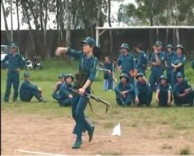Hội thao quốc phòng quân sự huyện Thạch Thất năm 2013
