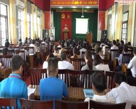 Phòng Kinh tế huyện tổ chức Tập huấn cho chủ trang trại trên địa bàn huyện
