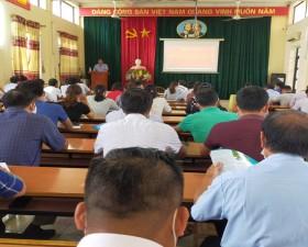 Hội Nông dân huyện bồi dưỡng chuyên môn, nghiệp vụ cho 108 cán bộ Hội Nông dân cơ sở năm 2020