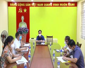 Đồng chí Chủ tịch UBND huyện: Kết thúc cách ly y tế vùng có dịch đối với ổ dịch Covid-19 tại xã Phùng Xá- Mừng nhưng không chủ quan