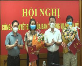 Huyện ủy Thạch Thất công bố Quyết định về công tác cán bộ