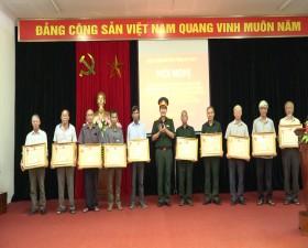 Ban Chỉ huy Quân sự huyện Thạch Thất: Trao tặng Huân chương chiến công