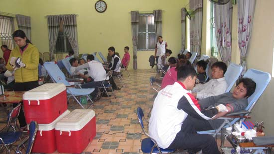 Thạch Thất tổ chức hiến máu tình nguyện đợt 2