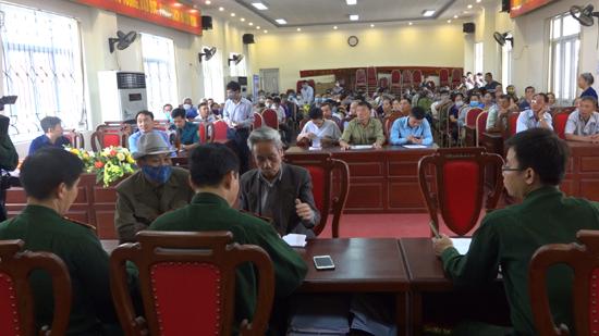 Ban chỉ huy Quân sự huyện: Chi trả trợ cấp 1 lần theo Quyết định 49 và Quyết định số 62 của Thủ tướng Chính phủ