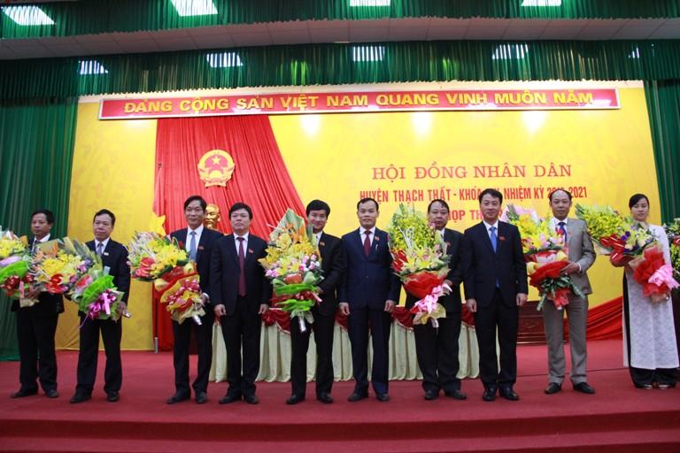 Hội đồng nhân dân huyện Thạch Thất khóa XIX- nhiệm kỳ 2016- 2021 họp kỳ thứ nhất