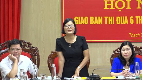Cụm thi đua số 5- Ủy ban MTTQ Việt Nam TP Hà Nội giao ban công tác Mặt trận 6 tháng đầu năm 2020