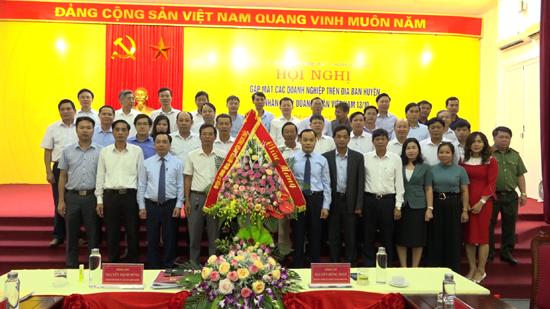 Thạch Thất gặp mặt các doanh nghiệp trên địa bàn huyện nhân ngày Doanh nhân Việt Nam
