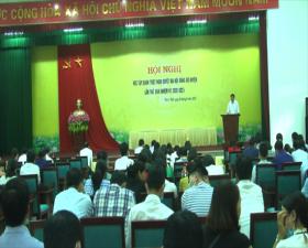 Hội nghị học tập, quán triệt Nghị quyết Đại hội Đảng bộ huyện lần thứ XXIV, nhiệm kỳ 2020-2025