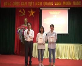 Xã Đồng Trúc tuyên dương khen thưởng học sinh giỏi