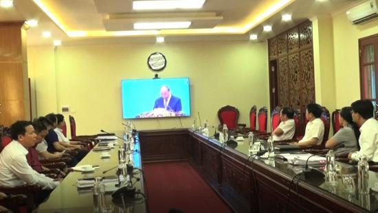 Hội nghị trực tuyến Chính phủ với Doanh nghiệp