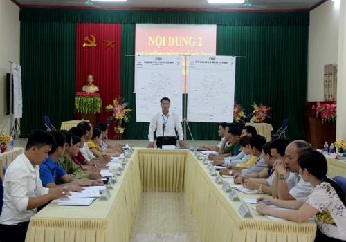 Diễn tập chiến đấu phòng thủ xã Hạ Bằng