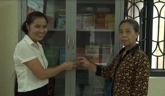 """Hội LHPN xã Phùng Xá ra mắt """"Nhóm phụ nữ nòng cốt tuyên truyền pháp luật"""" và tuyên truyền Đề án 938, 939"""