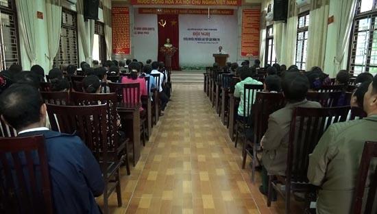 Thạch Thất tuyên truyền Luật Tiếp cận thông tin cho trên 1.000 đại biểu