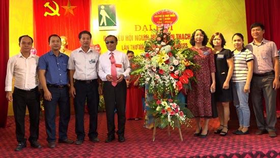 Đại hội Đại biểu Hội người mù huyện Thạch Thất lần thứ XII, nhiệm kỳ 2018-2023