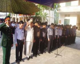 Lễ viếng Đại Tướng Võ Nguyên Giáp tại huyện Thạch Thất