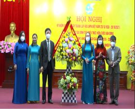 Hội Liên hiệp Phụ nữ huyện kỷ niệm  91 năm Ngày thành lập Hội LHPN Việt Nam 20/10/1930- 20/10/2021