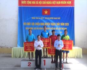 Hội khỏe Cựu chiến binh huyện Thạch Thất năm 2020