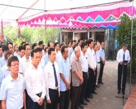 Thạch Thất: Thành kính tổ chức Lễ dâng hương tưởng nhớ Danh nhân Văn hóa Trạng Bùng Phùng Khắc Khoan