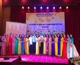 Hội LHPN huyện gặp mặt Câu lạc bộ Nữ doanh nhân huyện nhân kỷ niệm 16 năm ngày Doanh nhân Việt Nam (13/10)