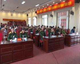 Hội nghị giao ban công tác phối hợp Tác chiến- Trị an- Dân vận