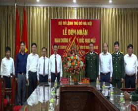 Ban CHQS huyện Thạch Thất gặp mặt kỷ niệm 75 năm Ngày truyền thống lực lượng vũ trang Thủ đô Hà Nội