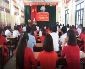 Khai giảng lớp Trung cấp lý luận chính trị - hành chính